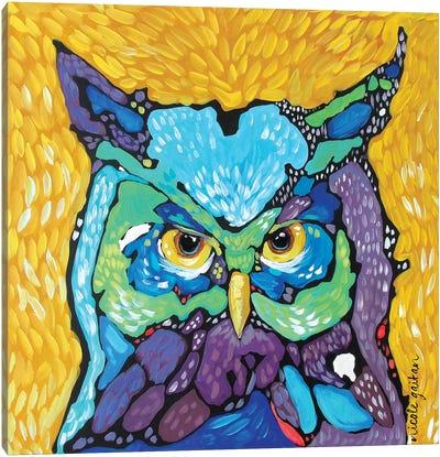 Starry Eyed Canvas Art Print