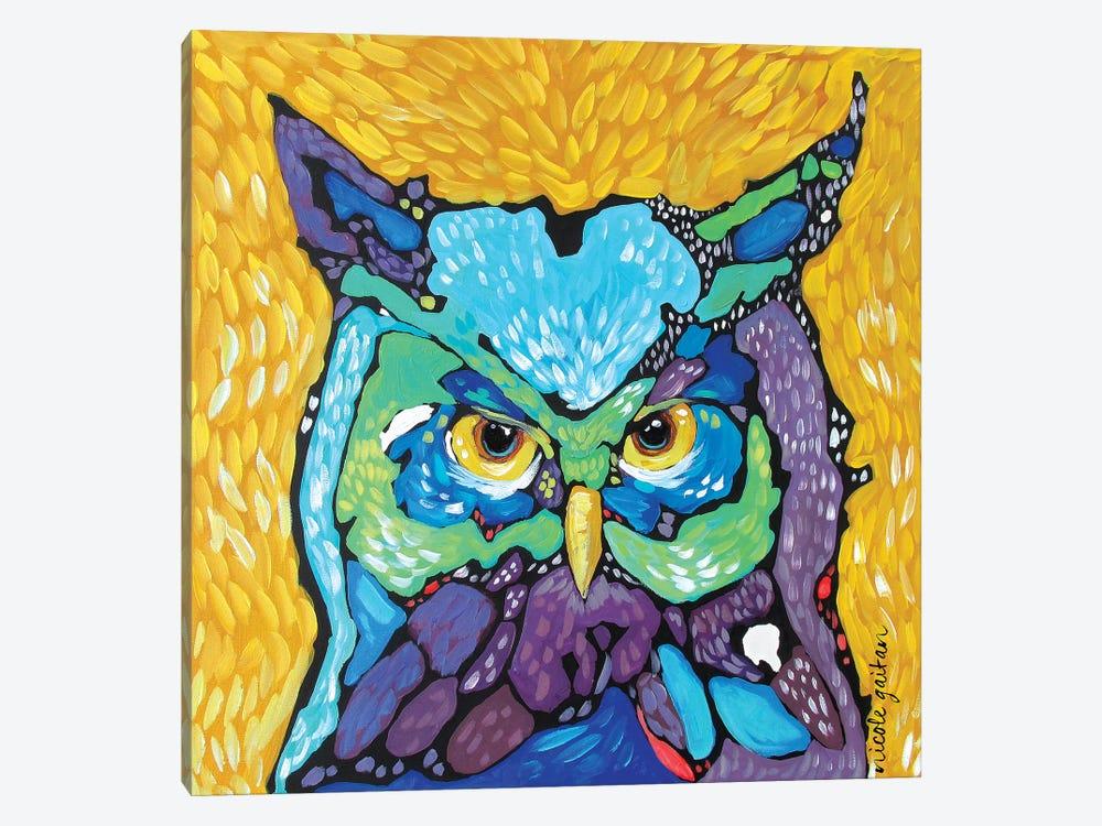 Starry Eyed by Nicole Gaitan 1-piece Canvas Print