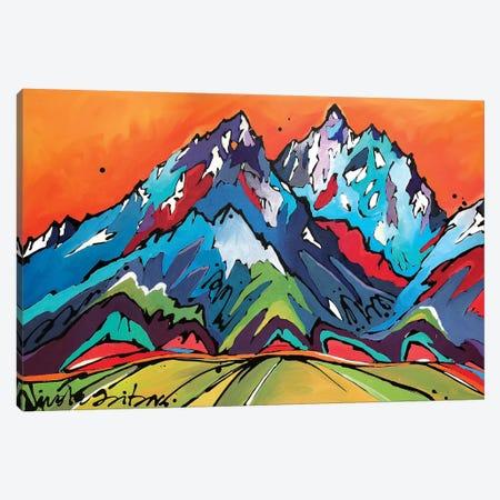 Sunset Over The Grand Canvas Print #NGA47} by Nicole Gaitan Canvas Art Print