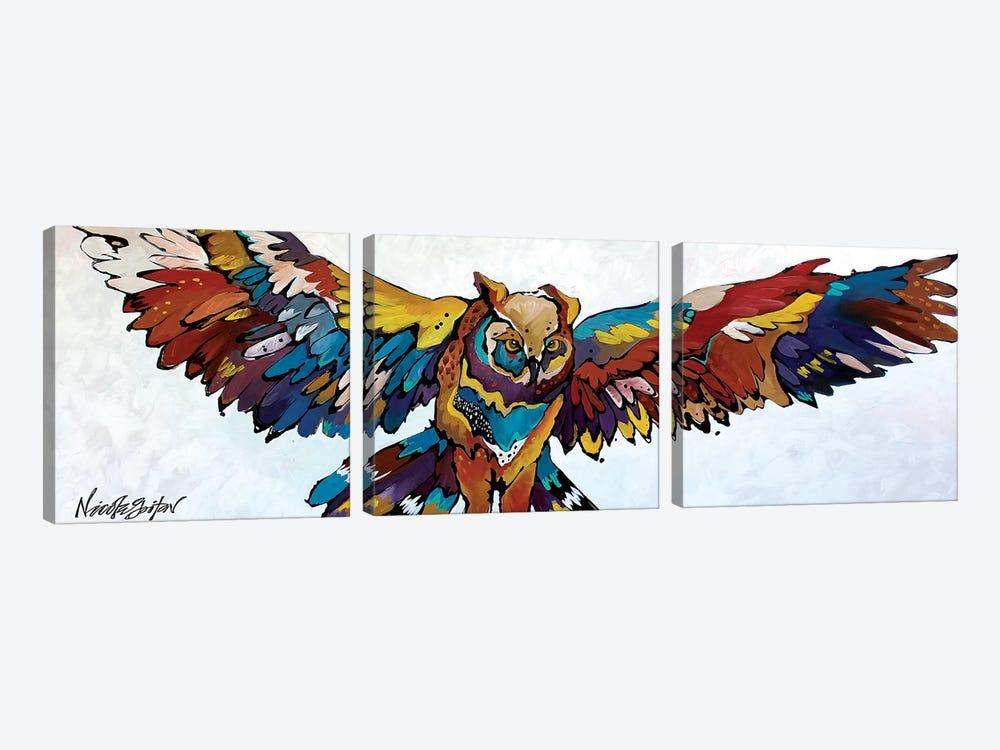 The Dreamcatcher by Nicole Gaitan 3-piece Canvas Art Print