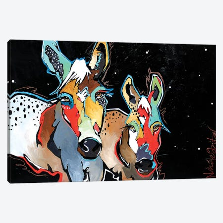 Banditos Canvas Print #NGA4} by Nicole Gaitan Canvas Print
