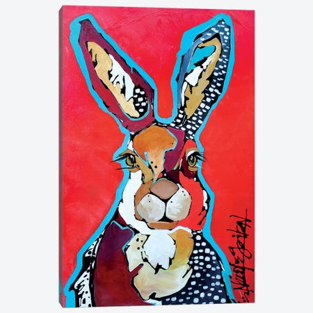 The Lucky One Canvas Print #NGA51} by Nicole Gaitan Canvas Print