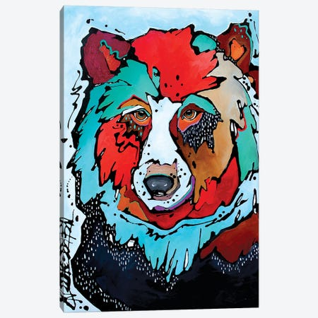 Thunderstruck Canvas Print #NGA53} by Nicole Gaitan Canvas Print