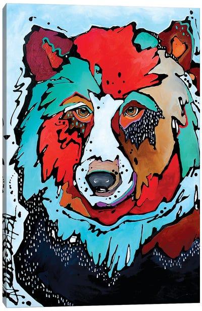 Thunderstruck Canvas Art Print