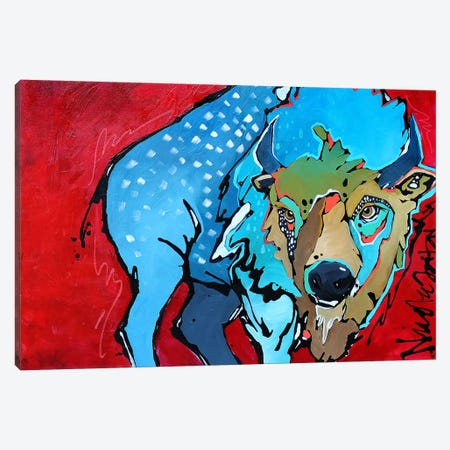 Wild Canvas Print #NGA55} by Nicole Gaitan Canvas Wall Art