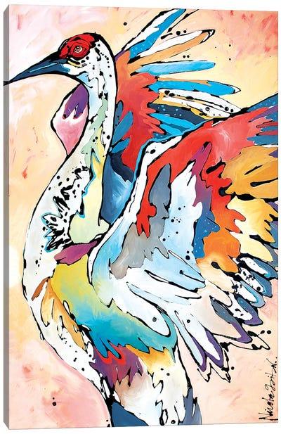 Basking in Glow Canvas Art Print