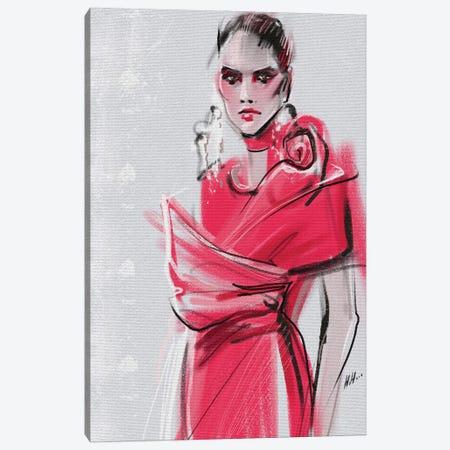 Pink Elie Saab Canvas Print #NGB17} by Natalia Nagibina Art Print