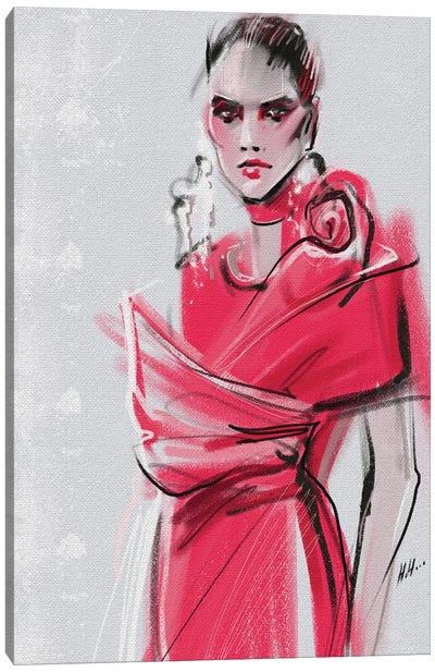 Pink Elie Saab Canvas Art Print