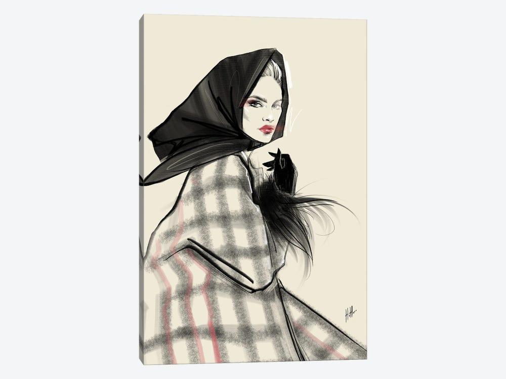 60's Retro Chic by Natalia Nagibina 1-piece Canvas Art
