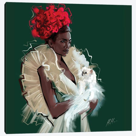 Royalty Canvas Print #NGB22} by Natalia Nagibina Canvas Art Print