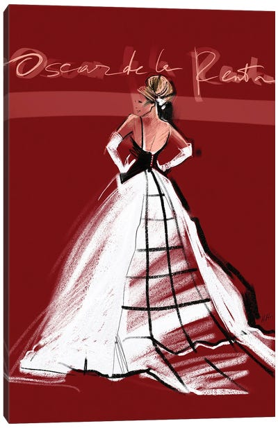 SJP MET Gala '14 Canvas Art Print
