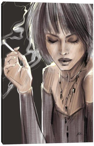Smoke Show Canvas Art Print