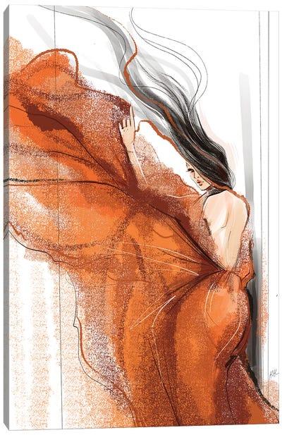 Swept Away Canvas Art Print