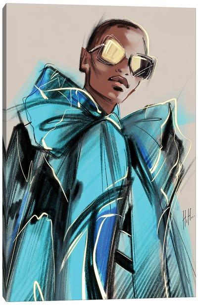 Blue Mood Canvas Art Print
