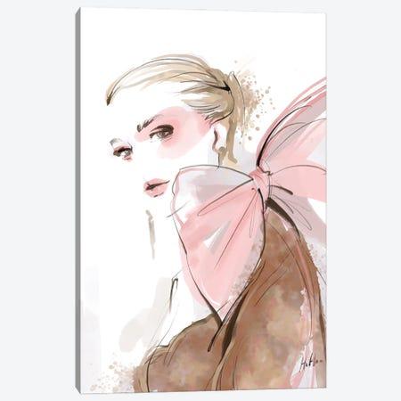 Blushing Bow Canvas Print #NGB3} by Natalia Nagibina Canvas Print