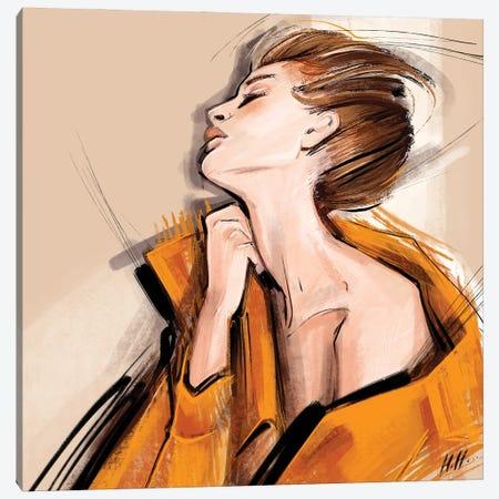 Cold Shoulder Canvas Print #NGB5} by Natalia Nagibina Canvas Wall Art