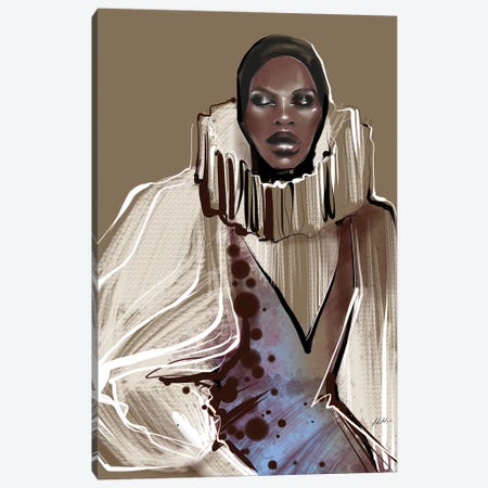 Dior Couture Canvas Print #NGB6} by Natalia Nagibina Canvas Artwork