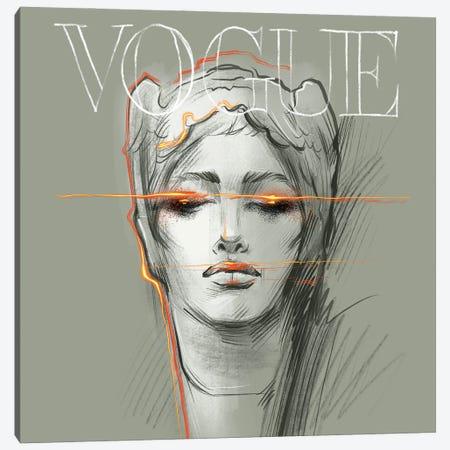 Electric Vogue Canvas Print #NGB7} by Natalia Nagibina Canvas Artwork