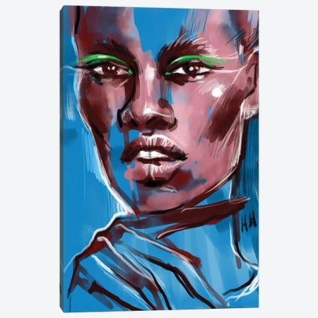 Green Wings Canvas Print #NGB9} by Natalia Nagibina Art Print