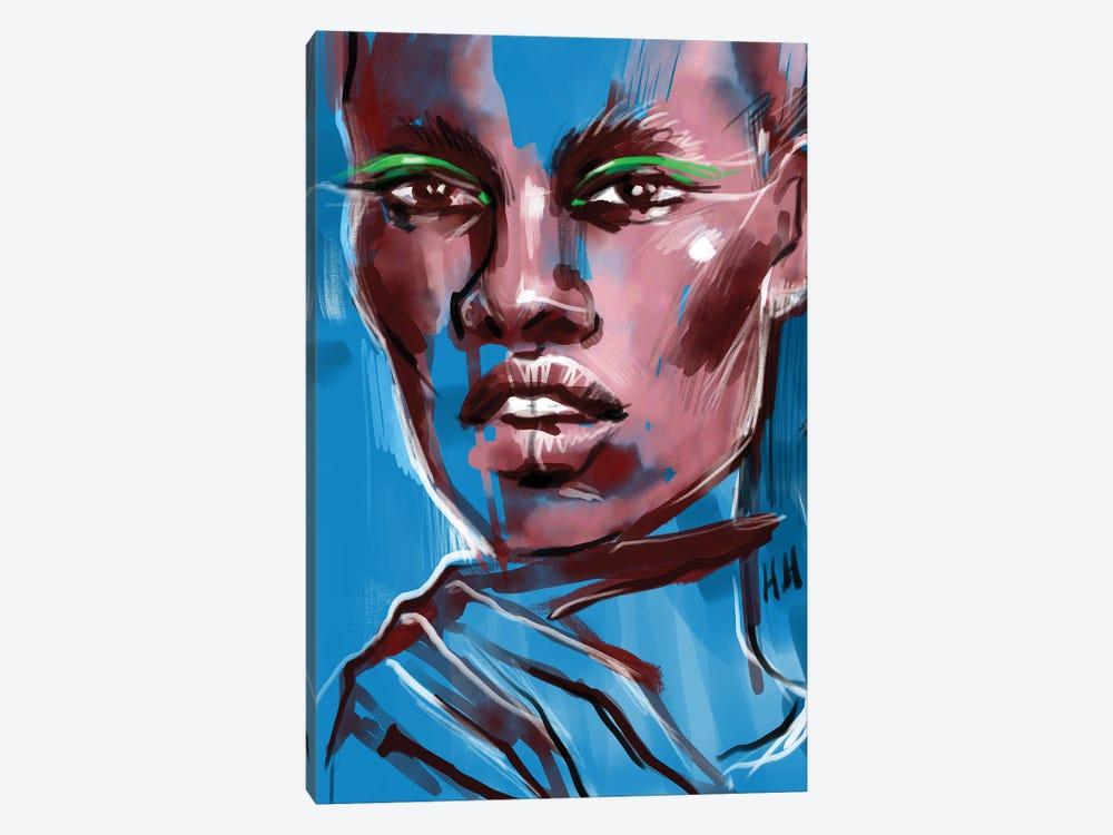 Green Wings by Natalia Nagibina 1-piece Canvas Art