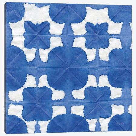 Aquarelle Blue Square II Canvas Print #NGD18} by Nancy Green Canvas Wall Art