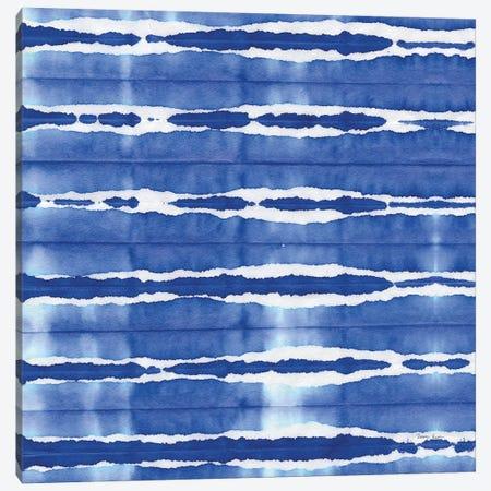 Aquarelle Blue Square XI Canvas Print #NGD21} by Nancy Green Canvas Art Print