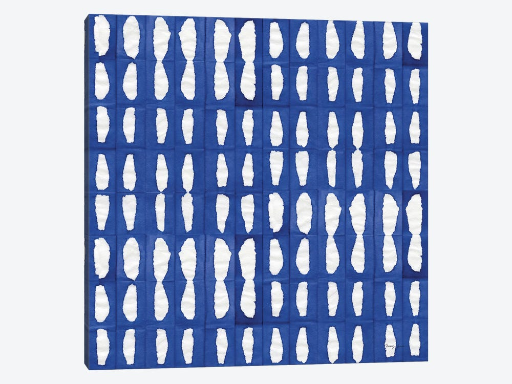Aquarelle Blue VIII by Nancy Green 1-piece Canvas Art Print