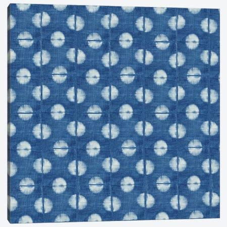 Blue Shibori II Canvas Print #NGD2} by Nancy Green Canvas Print