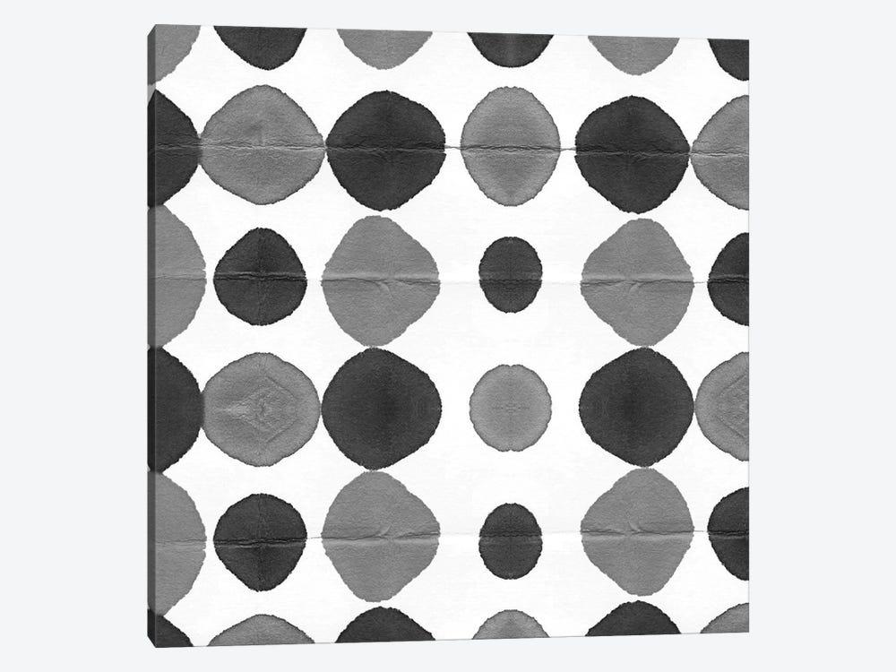 Watermark Black & White III by Nancy Green 1-piece Canvas Art Print