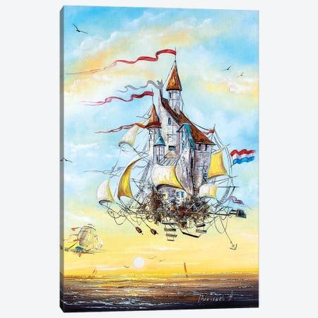 Flying Dutchmen Canvas Print #NGR13} by Natalia Grinchenko Canvas Artwork