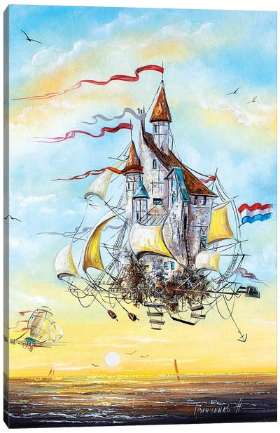 Flying Dutchmen Canvas Art Print