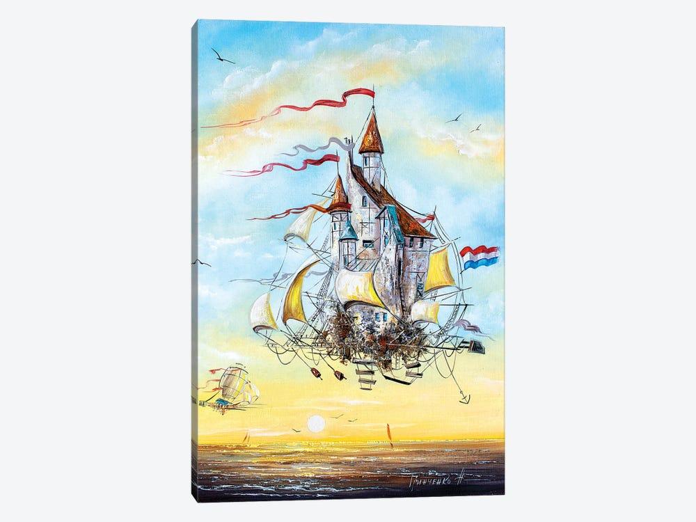 Flying Dutchmen by Natalia Grinchenko 1-piece Canvas Art Print