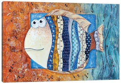 Good Luck Fish Canvas Art Print