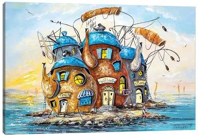 Island Of Teapots Canvas Art Print