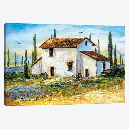 Provence Canvas Print #NGR26} by Natalia Grinchenko Canvas Artwork
