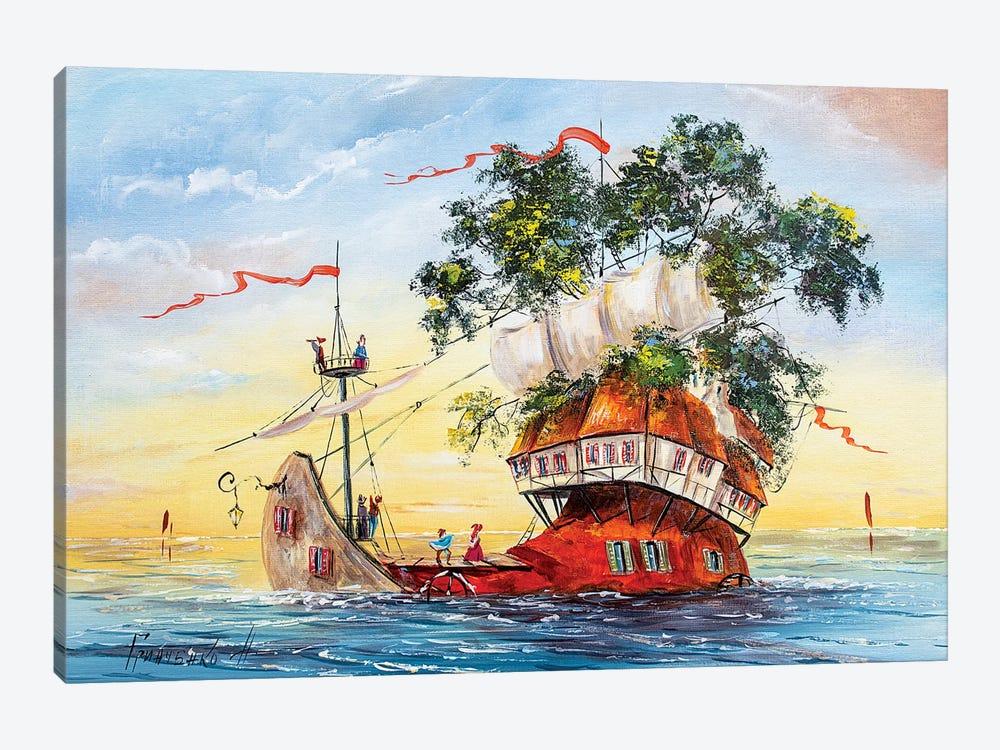 Sailors by Natalia Grinchenko 1-piece Canvas Art Print