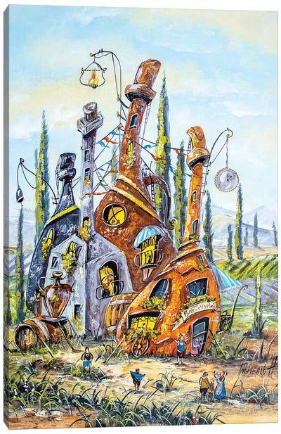 Сity Of Winemakers Canvas Art Print
