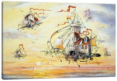Amazing Flying Dutchmen Canvas Art Print