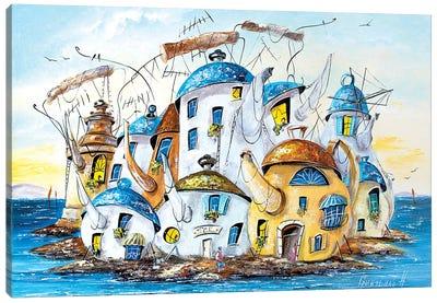 City Of Teapots Canvas Art Print