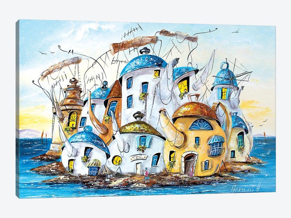 City Of Teapots by Natalia Grinchenko 1-piece Art Print