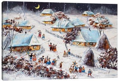 Winter Traditions Canvas Art Print