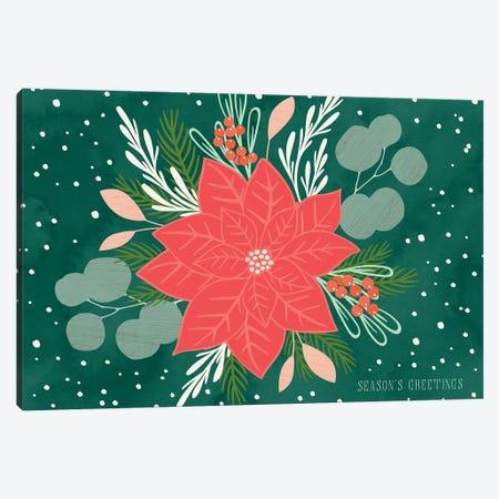 Botanical Holiday II Canvas Print #NHA10} by Nadia Hassan Art Print