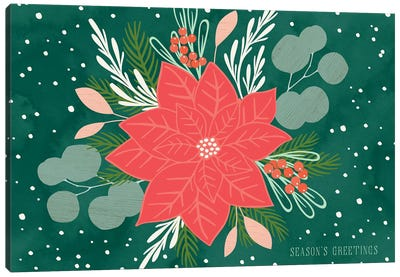 Botanical Holiday II Canvas Art Print