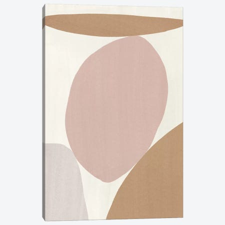 Elegant Abstraction I Canvas Print #NHA18} by Nadia Hassan Canvas Print