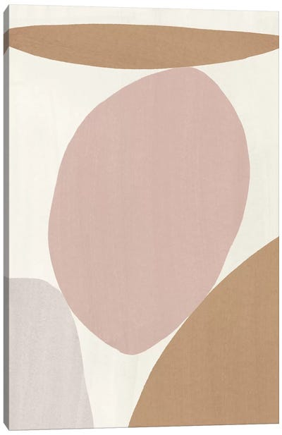 Elegant Abstraction I Canvas Art Print