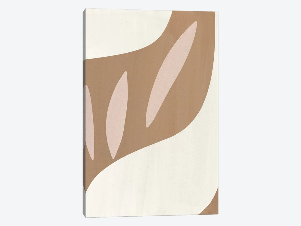 Elegant Abstraction IV 1-piece Canvas Art