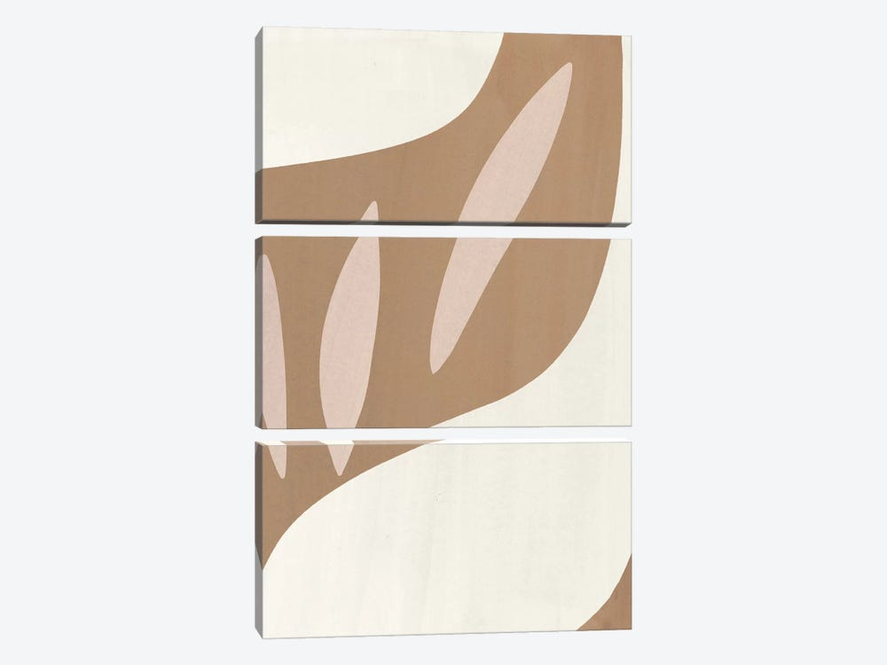 Elegant Abstraction IV by Nadia Hassan 3-piece Canvas Artwork