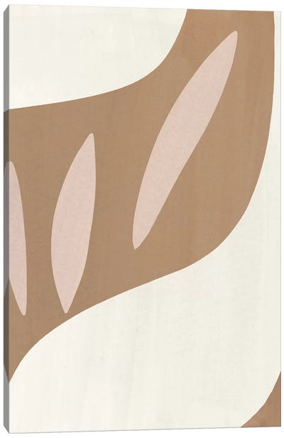 Elegant Abstraction IV Canvas Art Print