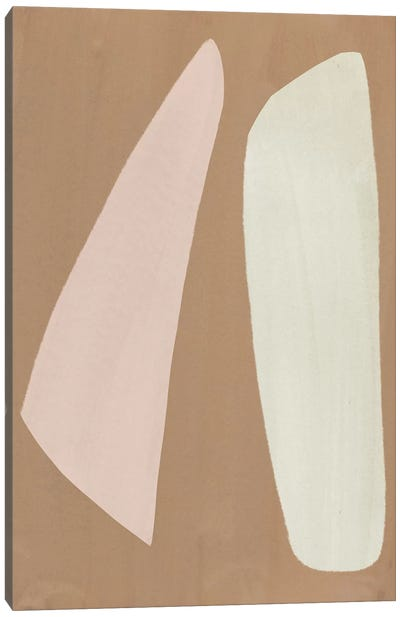 Elegant Abstraction VI Canvas Art Print