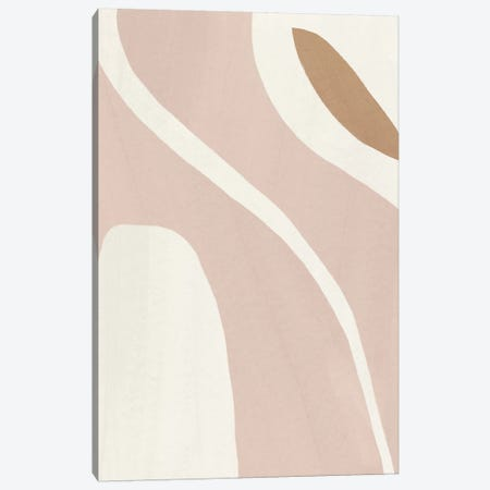 Elegant Abstraction IX Canvas Print #NHA26} by Nadia Hassan Art Print